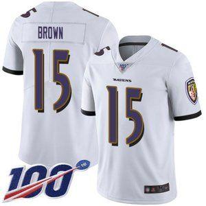 Ravens Marquise Brown 100th Season Jersey